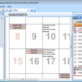 Calendar Printing Assistant Shows Duplicate Entries