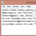 Filter and Save Contacts to a CSV File