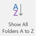 Outlook Folders Move Around When Clicked